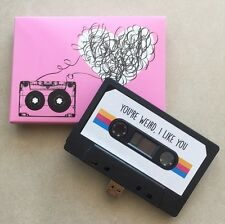 16GB USB Mixtape - Retro, Funny - Handmand Gift - Techie, Gadget, Love, Cute