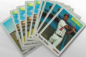 2019 Topps Heritage High Numbers U Pick List Short Prints #701-725 Rookies & Vet