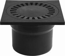 Floor Drain Square Bathroom Wet room Shower Drain 150x150mm/Ø110mm (PVS DN 110C)