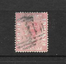 SIERRA LEONE  1876   1d    QV   FU  SG 17