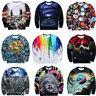 Felpa Maglia Uomo con stampa 50 Stili Men 3D Printed hoodie Sweatshirt 3dhd14