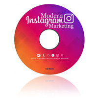 Learn Instagram Marketing Skills for Business MP4 Video Course on CD-Rom