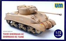 UM-MT Models 1/72 BRITISH SHERMAN IIC TANK