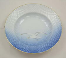 Bing & Grondahl B & g-gaviota con marco dorado-pequeño platos de 21,5cm -