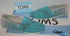 NEW Womens TOMS Classic Crochet Baltic Dip-Dye Flats Shoes Size 8.5