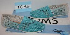 NEW Womens TOMS Classic Crochet Baltic Dip-Dye Flats Shoes Size 8.5