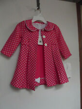 baby girl dress and coat size 24 months by bonnie jean