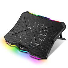 SK Notebook Laptop Rainbow Kühler Kühlpad Ständer 18cm Lüfter für 9-17 Zoll R700
