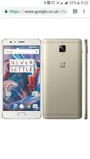 OnePlus 3T One Plus Three T 6GB RAM 64GB White Rose Gold Unlocked Smartphone