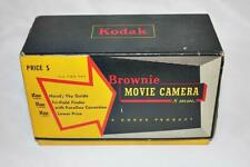 Vintage Kodak Brownie 8mm Movie Camera Empty Box