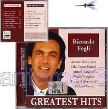 RICCARDO FOGLI RARO CD STAMPA RUSSA - POOH