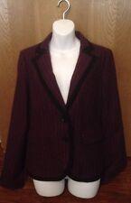 Women's Urban Outfitters Lux Purple Blazer Size Medium