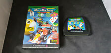 Sega Mega Drive Game Micro Machines Boxed