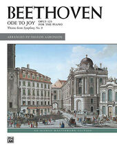 Ode to Joy; Beethoven, Ludwig van, Piano Solo, ALFRED - 16717