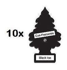 10 x Black Ice magia alberelli Car Valeting Deodoranti odori freschi
