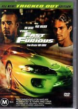 THE FAST AND THE FURIOUS - DVD R4 (2005) GOOD COND - FREE POST