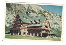 CANADA Waterton Lakes National Park Antique Post Card Prince of Wales Hotel