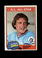 1981 Topps #700 George Brett AS Vintage Baseball Card~ NM to NM-MT