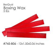 "Dental Meta Boxing Wax Box of 5 lbs (12 x 1.5 x .06) 1/16""  #745-B06"