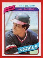 1980 Topps #700 Rod Carew NEAR MINT California Angeles All-Star FREE SHIPPING