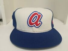 Atlanta Braves New Era Cooperstown Collection Wool 59FIFTY Sz. 7 3/4 Made in USA