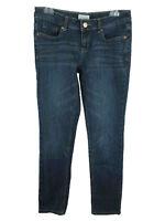 Aeropostale Women's sz 7/8 Cotton Bayla Dark Wash Blue Slim Skinny Jeans