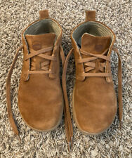 MENS LEMS CHUKKA BOOTS SHOES SIZE 11 BROWN