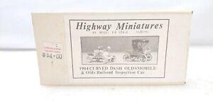 Jordan Highway Miniatures HO Scale 1904 Oldsmobile & Olds Inspection Kit 360-228