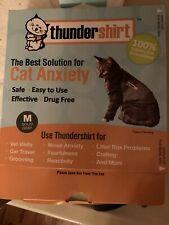 New listing Thundershirt ThunderShirt for Cats Size M Grey