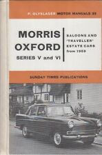 morris oxford owners manual