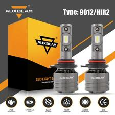 AUXBEAM 9012 LED Headlight for Dodge Ram 1500 2500 3500 Durango Canbus Resistor