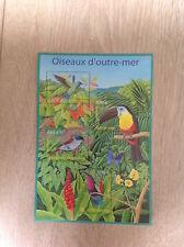 Bloc feuillet 56 de 2003 neuf : nature de France - oiseaux d'outre-mer