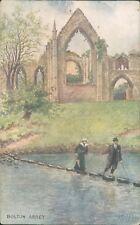 Bolton abbey; 1907 Ruddock artist series