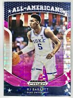 2019-20 Panini RJ Barrett Prizm Pink Pulsar Rookie Card RC AA New York Knicks🔥