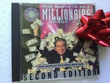 Who Wants To Be A Millionaire CD-ROM 2nd Edition  **WHY BUY MY CD??