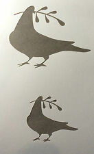 Dove Pigeon Bird Animal A4 Mylar Reusable Stencil Airbrush Painting Art Craft