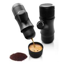 Porto Mini Espresso Coffee Machine Maker Travel 1Cup Camping Rechargeable w/ Bag
