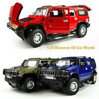 1:32 Hummer H2 Car Model Alloy Models High Simulation Jeep off-road Vehicles Toy