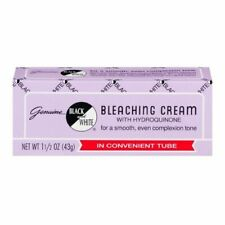 Black and White Bleaching Cream with Hydroquinone 1.5 Ounce