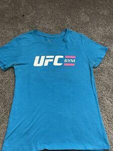 womens UFC GYM Blue t shirt size Xl