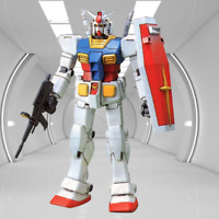 Gundam Model Figure: RX782 1/144 20th Anniversary Retooled RX-78-2 Collectable
