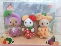 Sylvanian Families BABY TRIO Vegetables 35th Anniversary Limited 2020