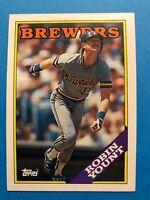 1988 Topps Milwaukee Brewers team set