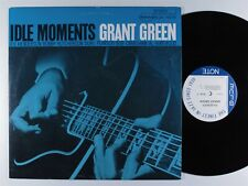GRANT GREEN Idle Moments BLUE NOTE LP VG+ 1987 reissue dmm audiophile*