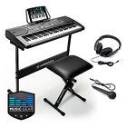 OPEN BOX - Digital Music Piano Keyboard - 61-Key Electronic Instrument