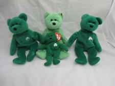 Ty Beanie Baby Erin & Kicks Lot Of 4 Plush Beanie Babies