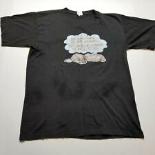 Vtg 1981 Roach Dog T-Shirt Mens Xs Life Answers Miller Black Usa 80s ♡46