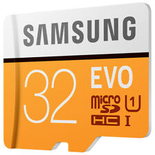 Samsung 32GB EVO MicroSD SDHC UHS-I Class10 TF Flash Memory Card up to 95MB/s