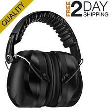 Ear Protection For Shooting Noises Hearing Muffs Black Safety Muffler Earmuffs