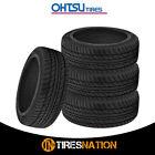 4 New Ohtsu Fp7000 21545r17 87w Bw Tires